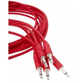 Erica Synths Eurorack patch cables 10cm, 5 pcs red