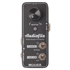 Mooer Audiofile - Pedal Headphone Amplifier