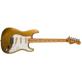 Fernandes 1977 Stone logo Stratocaster Gold OHSC