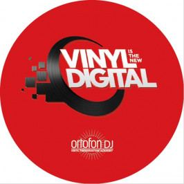 Ortofon DJ Digitrack Limited sticker Slipmat 60mm
