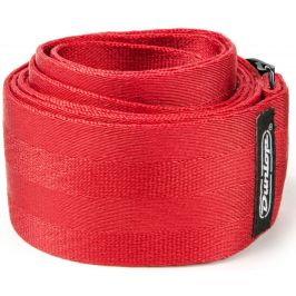 Dunlop Deluxe Seatbelt Strap Red