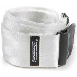 Dunlop Deluxe Seatbelt Strap White