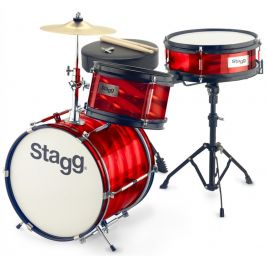 Stagg Junior 3/12B Red