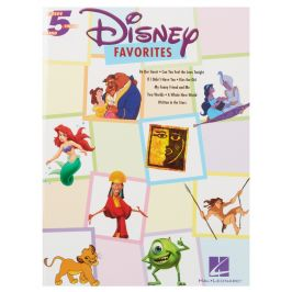 MS Disney Favourites Five Finger Piano