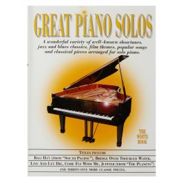 MS Great Piano Solos - The White Book