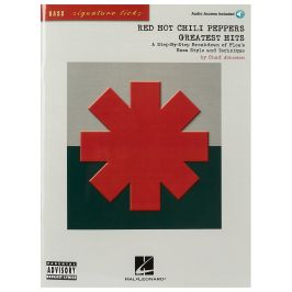 MS Red Hot Chili Peppers Greatest Hits Signature Licks Bass Gtr BK/CD