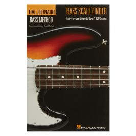 MS Hal Leonard Bass Method Bass Scale Finder 6x9