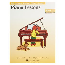 MS Hal Leonard Student Piano Library: Piano Lessons Book 3