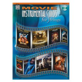 MS Movie Instrumental Solos, Cello Level 2-3 Book/CD
