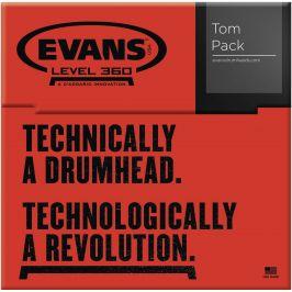 Evans Genera G1 Rock Clear set