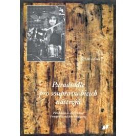 KN Paradiddle pro soupravu bicích nástrojů - kniha s CD - Miloš Veselý