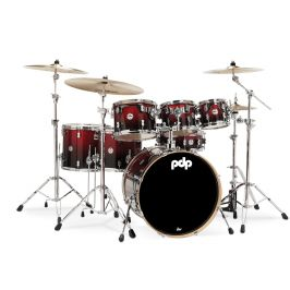 PDP Concept Maple CM7 Red to Black Fade