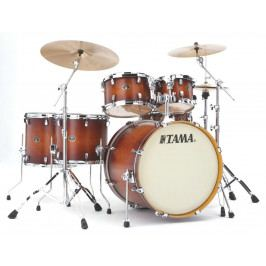 Tama Silverstar Fusion II set Antique Brown Burst