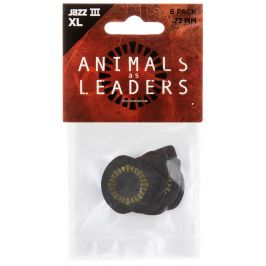 Dunlop Animals As Leaders Tortex Jazz III 0.73 Black
