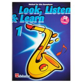 MS Look, Listen & Learn 1 - Alto Saxophone