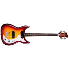 Godin Dorchester 4 String Solid Body Basses Cherry Burst RN