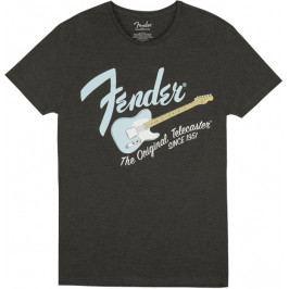 Fender Original Telecaster T-Shirt Dark Grey/Sonic Blue L