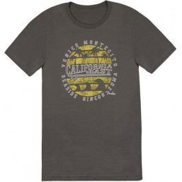 Fender California Coastal Yellow Waves T-Shirt L