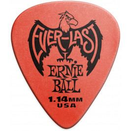 Ernie Ball Everlast Picks 1.14 Red