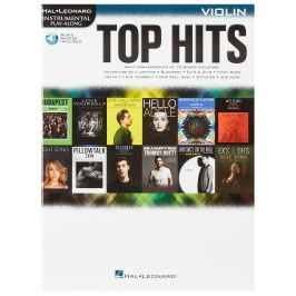 MS Hal Leonard Instrumental Play-Along: Top Hits - Violin