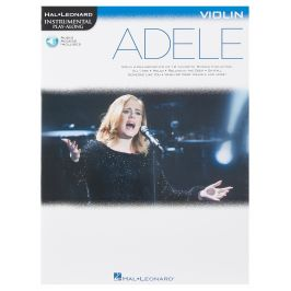 MS Hal Leonard Instrumental Play-Along: Adele - Violin