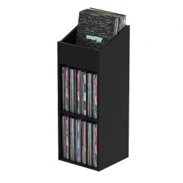 Glorious Record Rack 330 Black