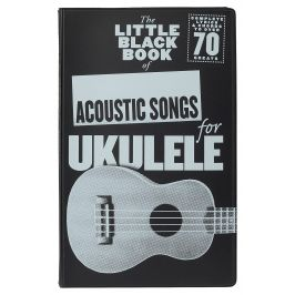 MS The Little Black Book Of Acoustic Songs For Ukulele