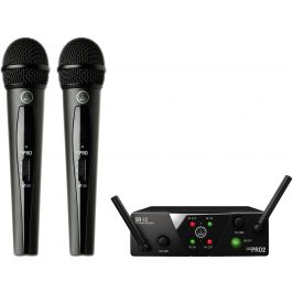 AKG WMS40 Mini2 Vocal Set Dual US45A/C