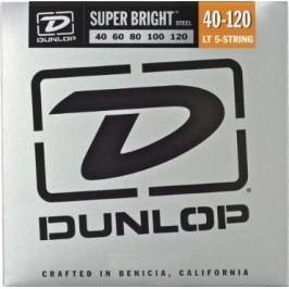 Dunlop DBSBS40120 Stainless Steel Bass Guitar Strings, Light