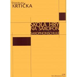Stanislav Krtička Škola hry na saxofon
