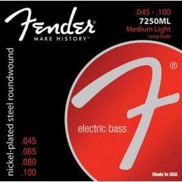 Fender Super 7250 Bass Strings 45-100
