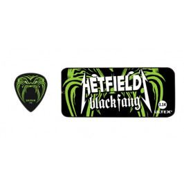 Dunlop PH 112T 114 Hetfield Black Fang pick set 1.14 mm.