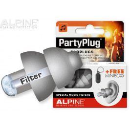 Alpine PartyPlug Silvergrey