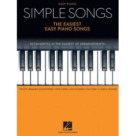 Hal Leonard Simple Songs - The Easiest Easy Piano Songs
