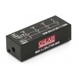 G-Lab MIDI 3 x Splitter M3S