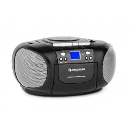 Auna BoomBerry Boom Box Black