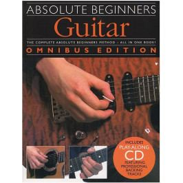 Music Sales Absolute Beginners: Guitar - Omnibus Edition
