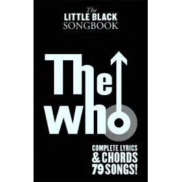 Music Sales The Little Black Songbook: The Who