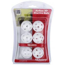 Masters Golf Airflow Xp Practice Balls X6 White