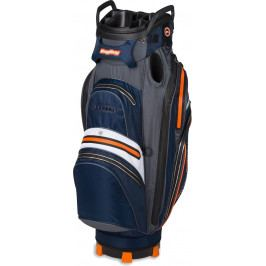 BagBoy Techno Ca 337 Staff Cartbag Waterproof Navy/Orange/Charcoal/White