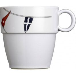 Marine Business REGATA Melamine non-slip mug set