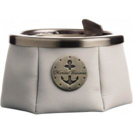 Marine Business Ashtray with lid - Premium Ecru - WINDPROOF