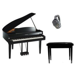 Yamaha CLP-695GP Polished Ebony SET