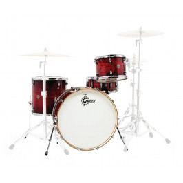 Gretsch Drums CT1-R444 Catalina Club Gloss Crimson Burst