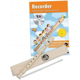 Cascha HH 1500 EN Recorder Set German Fingering