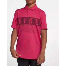 Nike Dry Boys' Graphic Golf Polo Rush Pink L
