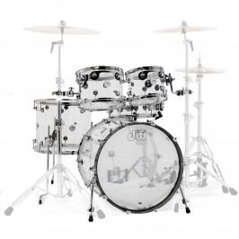 DW Design Series Shell Set Acrylic Clear 22''