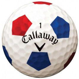 Callaway Chrome Soft 2018 Truvis Balls Red Blue