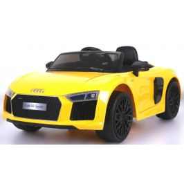 Beneo Electric Ride-On Car Audi R8 Spyder Yellow