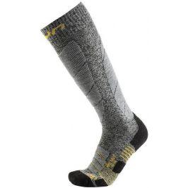 UYN Pro Race Mens Socks Grey Melange/Pearl Grey 45-47